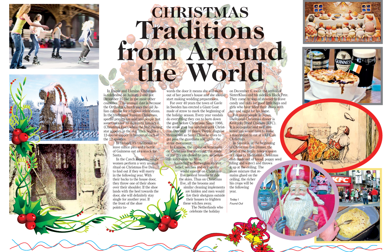 Christmas Traditions from Around the World | Daily News