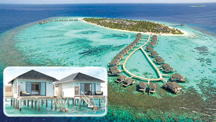 The Havodda Amari Resorts in the Maldives.