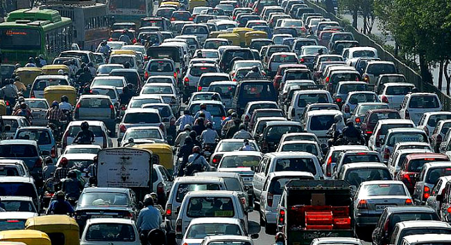Heavy traffic in Colombo | Daily News