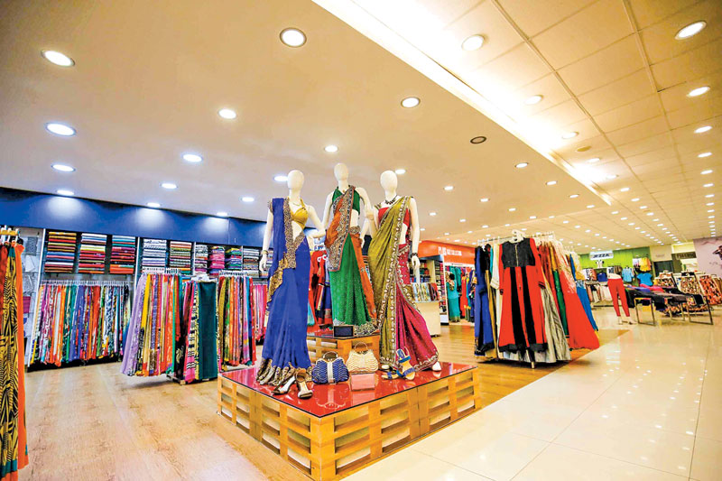 Fusion clothing store