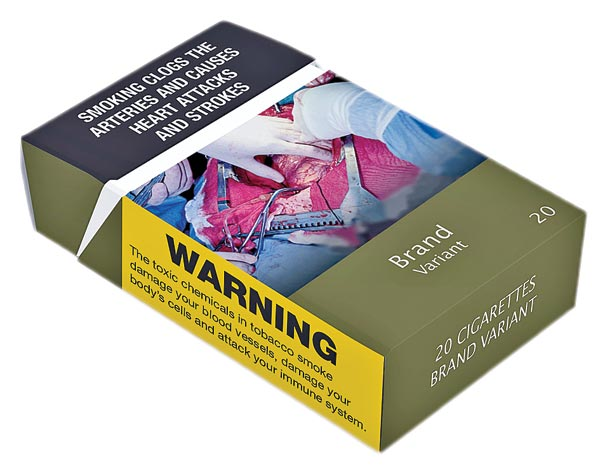 plain packaging of cigarettes seminar Recently, the french health minister introduced the idea of plain packaging of cigarettes for his country if france adopts this new policy, it could become one of only 3 countries to have.