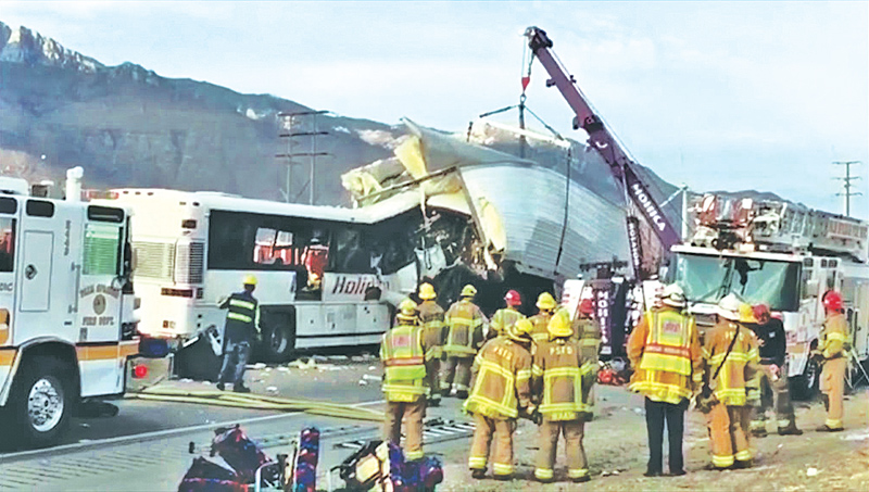 Foreigners believed to involved in fatal California tour bus crash