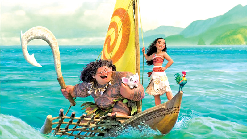 'Moana' Had One Of The Best Thanksgivings Ever At The Box Office