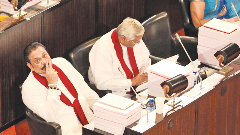 An attempted Rajapaksa return