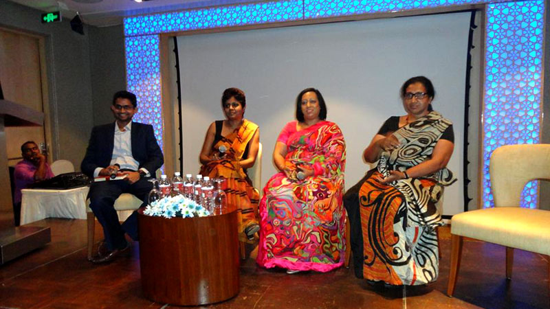 Panel Discussion - Shiran Fernando, Himalee Madurasinghe, Erosha Tennakoon, Chitrangani Heart Gunaratne.