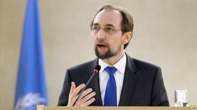 UN Human Rights Chief Zeid Ra'ad al-Hussein