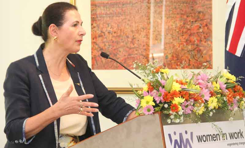 Australian assistance to increase women employment in SL