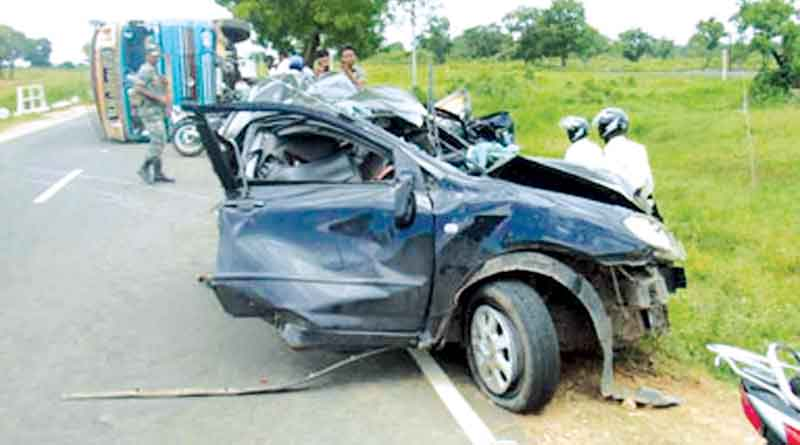 Five killed in road accidents