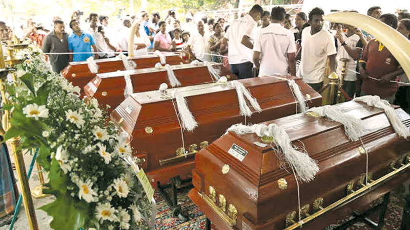 Funera Funeral of 12 victims l of 12 victims