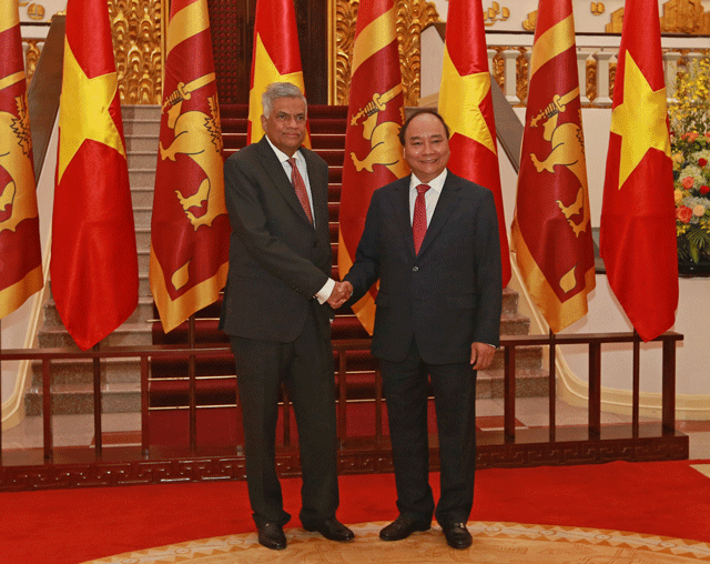 Vietnam and Sri Lanka agree to strengthen ties