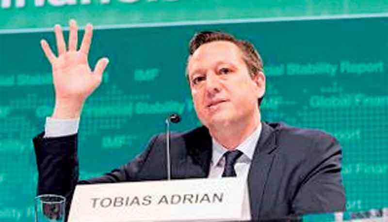 IMF Financial Counsellor Tobias Adrian