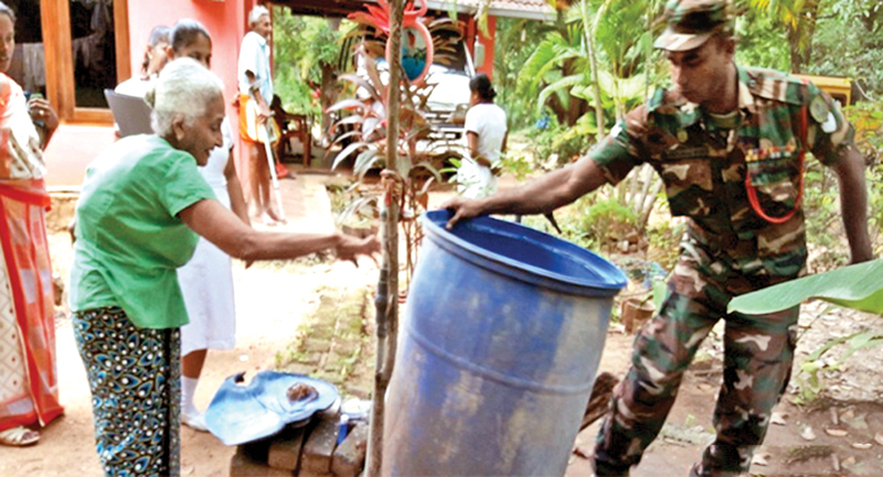 Army extends support to control dengue