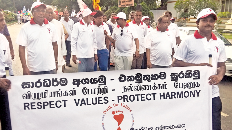 'Walk for Values' inaugurated