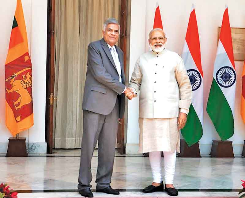 WARM WELCOME FROM INDIAN PM: India assures full support for Sri Lanka's empowerment