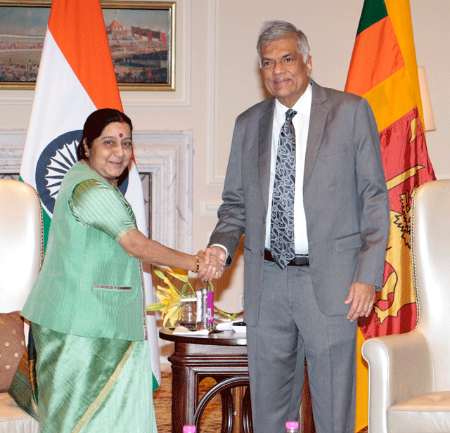 Comprehensive agreements marks Indo Lanka friendship and co-relationship: Indian Foreign Minister