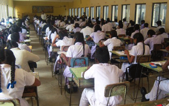 Application for O/L Examinations opened