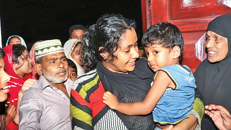 Kidnapped toddler found in Batticaloa