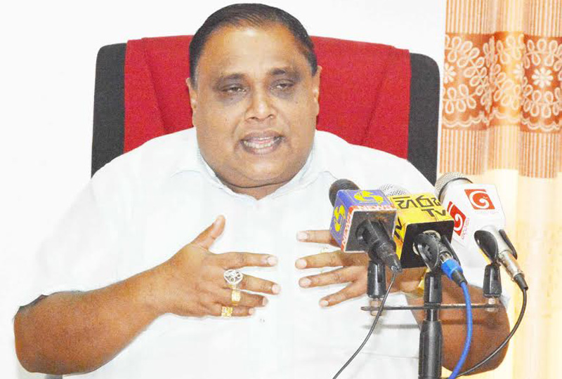 CA order on Geetha has no effect on UPFA list: SP Chief Minister