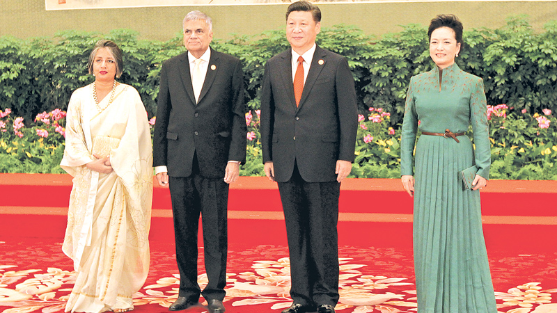 PM MEETS CHINESE PRESIDENT AT OBOR SUMMIT