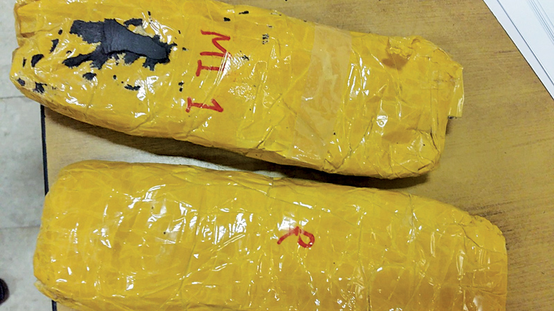 Pakistani arrested with 1 kg of heroin