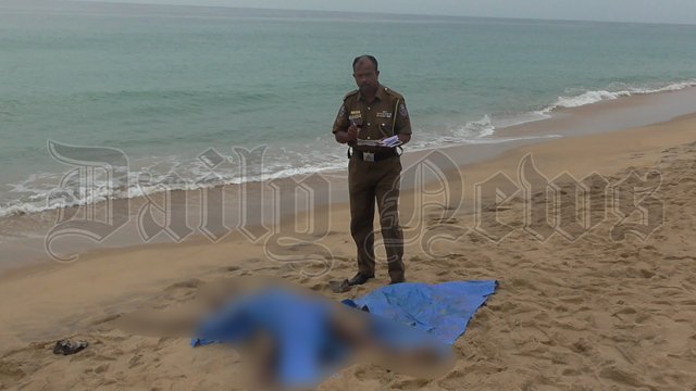 Body recovered from Kalladi sea shore