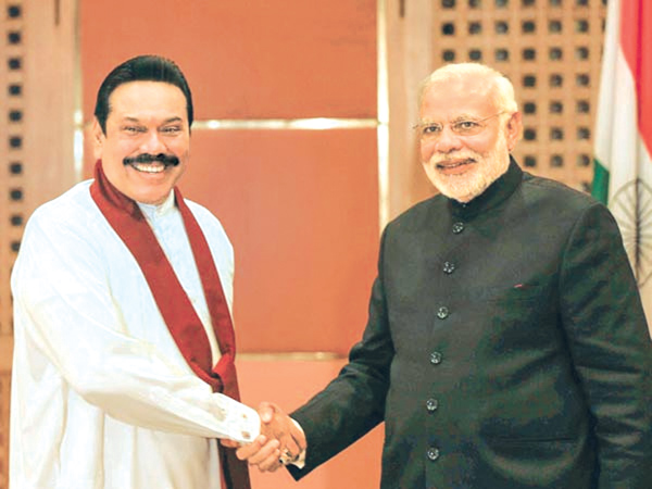 Taking ties to new heights daily news indian prime minister narendra modi meeting former president mahinda rajapaksa during his recent visit to sri lanka m4hsunfo