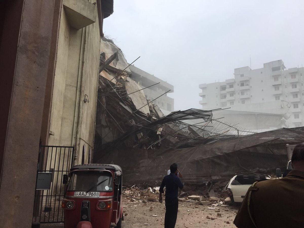 Building collapse in Wellawatta: Number of injured rises to twelve