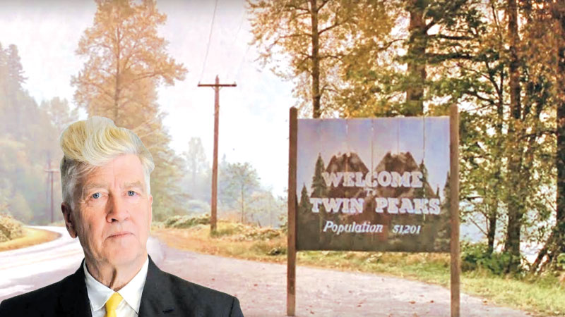 DAVID LYNCH, writer, director Twin Peaks