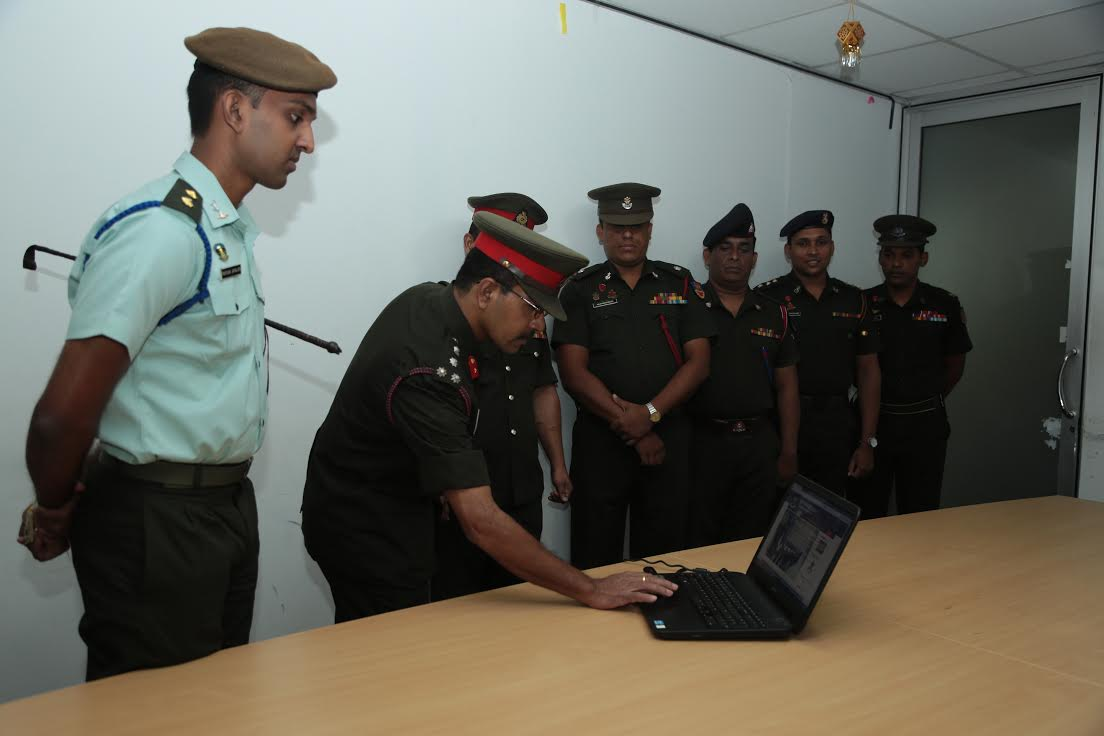 Army launch Tamil website