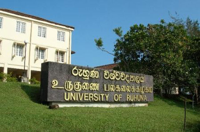 Two faculties of Ruhuna University closed