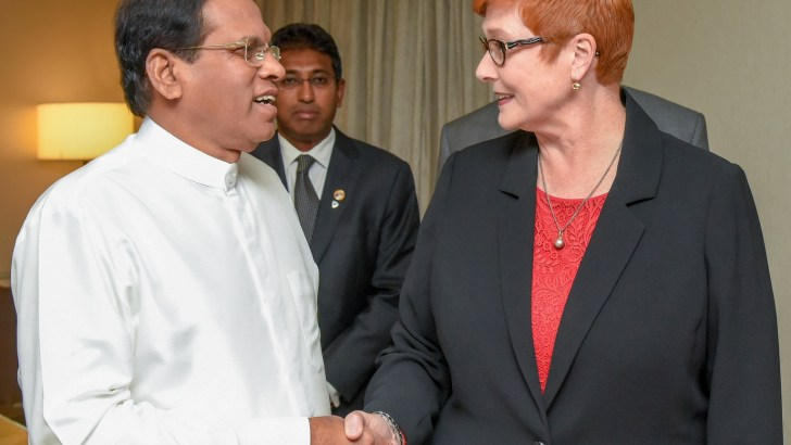 Australia and Sri Lanka to enhance cooperation in maritime security