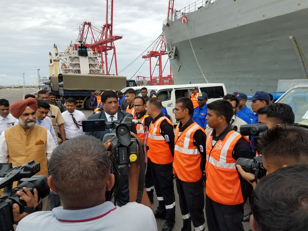 Third Indian ship arrives at Colombo Port with aid [Video]