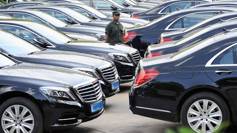 President cancels vehicle imports for ministries