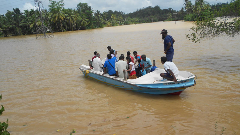 Nearly 160,000 people affected by floods in Matara