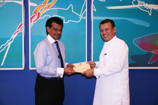 Professor Dissanayake assumes office as Ports Authority Chairman