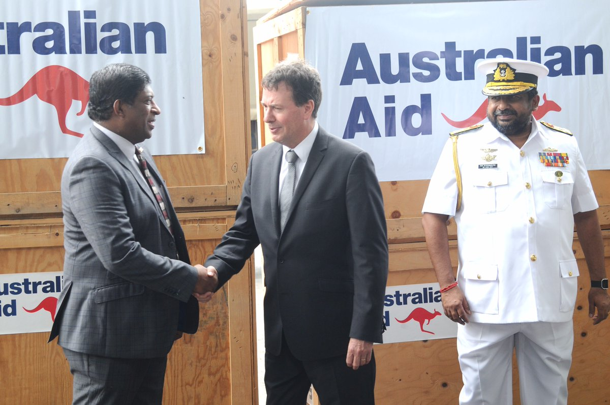 Australia sends five dinghies and equipment for flood relief work