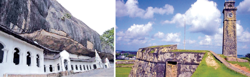 Dambulla Cave Temple, Galle Fort risk losing 'World Heritage Site' status: Akila