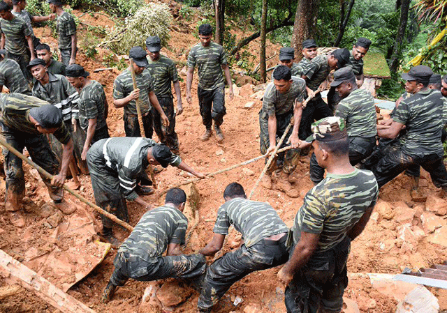 Death toll from landslides, floods rises to 208