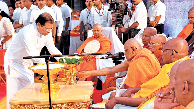 ALL NIGHT PIRITH TO BLESS FLOOD AFFECTED PEOPLE