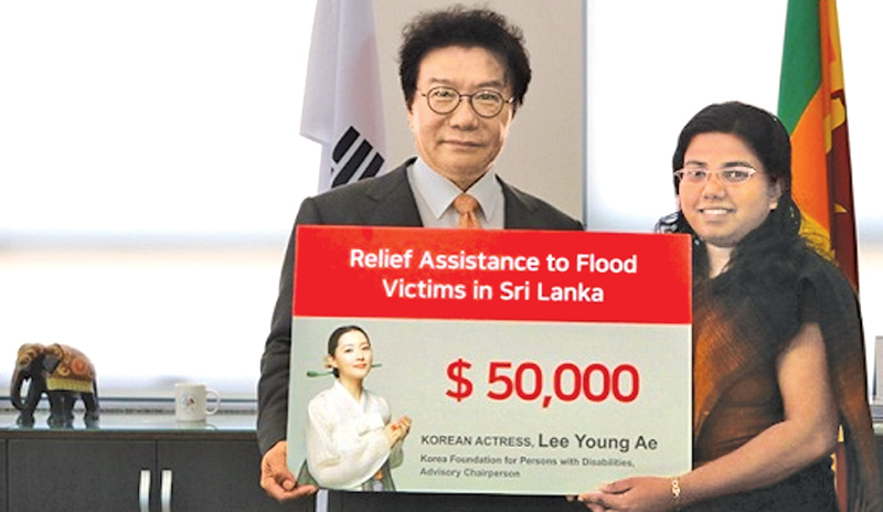 'Changumi' supports flood relief efforts