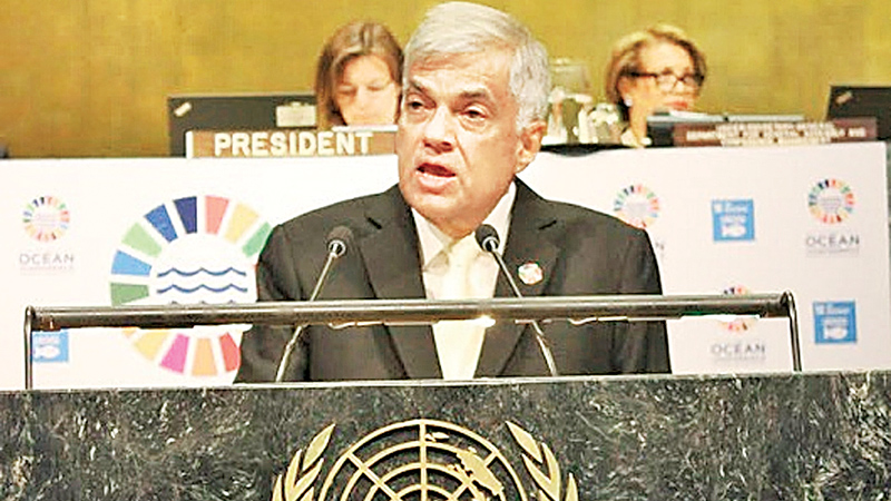 Lanka will support UN achieve SDGs - PM