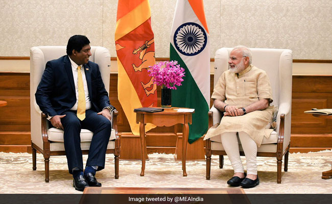 Foreign Minister holds discussions with Narendra Modi, Sushma Swaraj