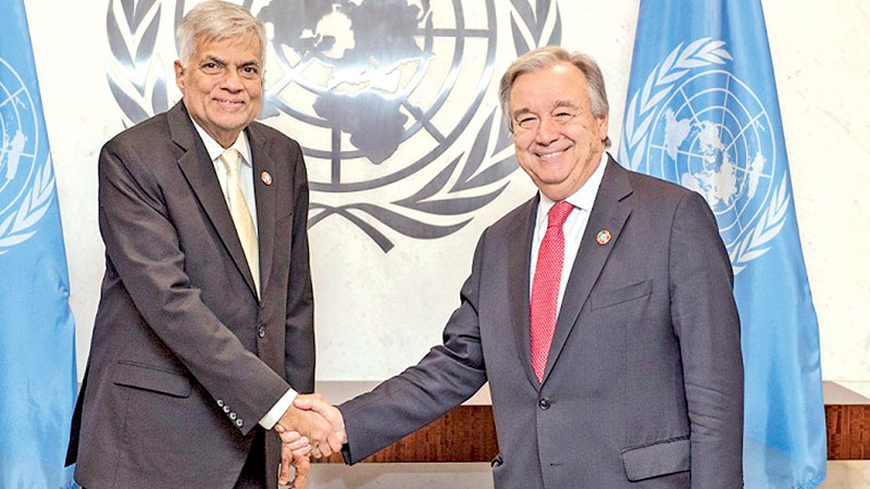Prime Minister called on UN Secretary General at the UN headquarters in NewYork