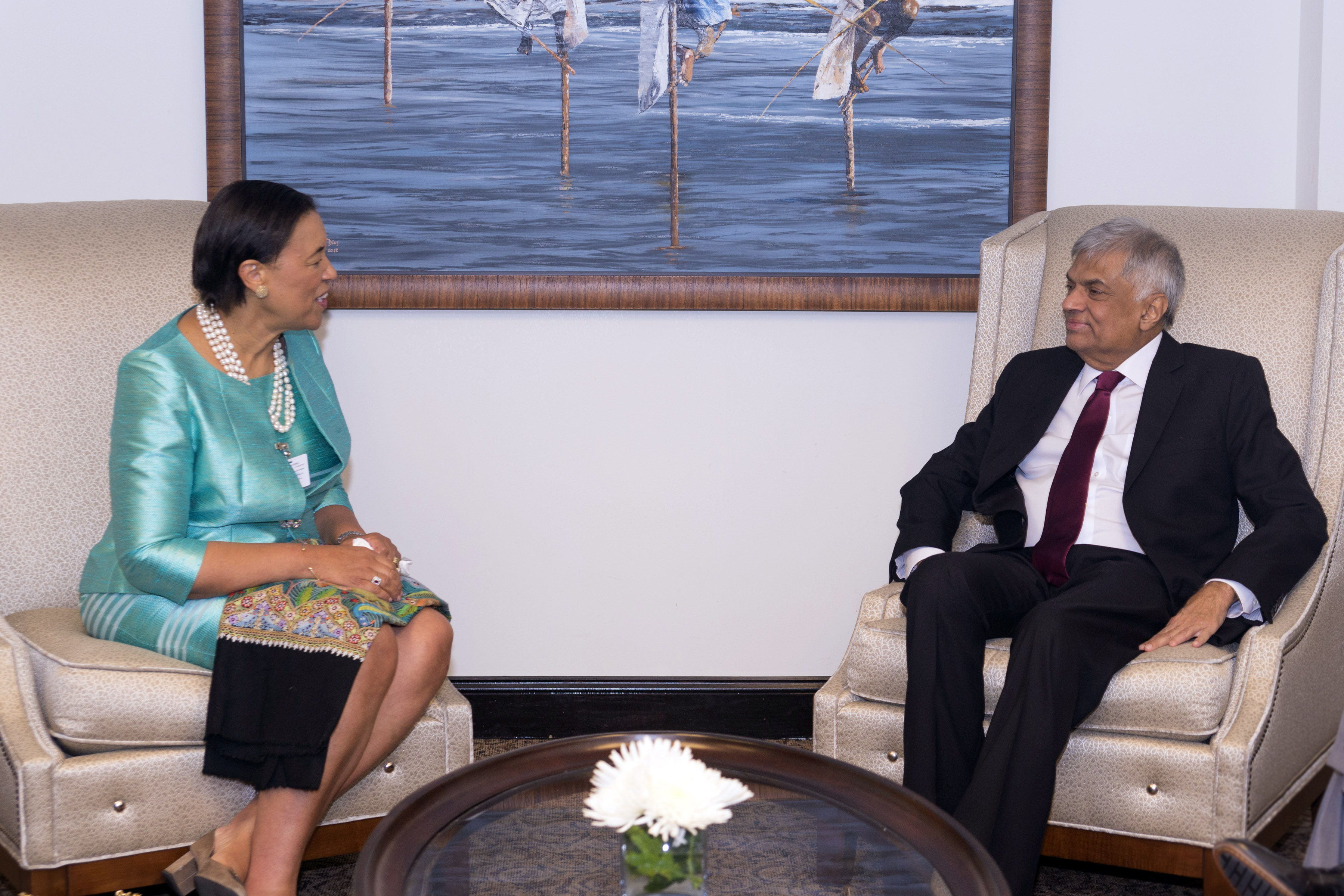 Premier holds discussions with Commonwealth Secretary General in New York