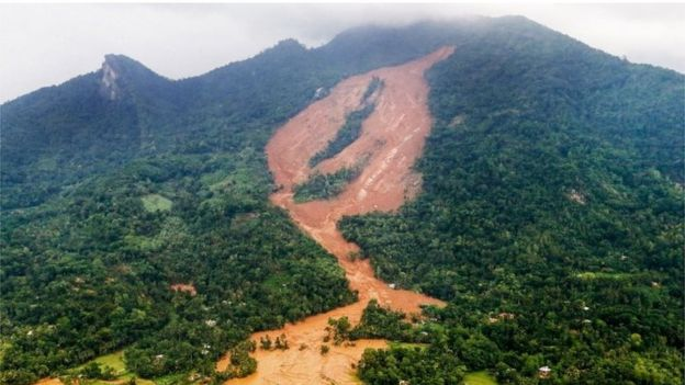 Landslide, rock fall and cut slope warnings to seven districts