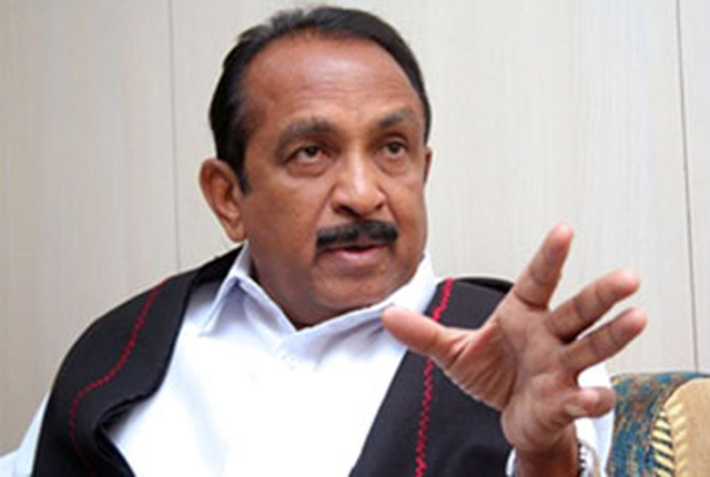Vaiko denied entry into Malaysia over 'LTTE connections'