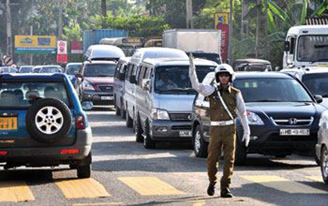 Lane laws in effect in Colombo from today