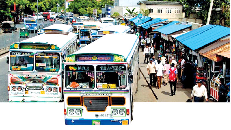 Illegal issue of bus route permits under former regime: OVER 2000 FILES BEFORE FCID
