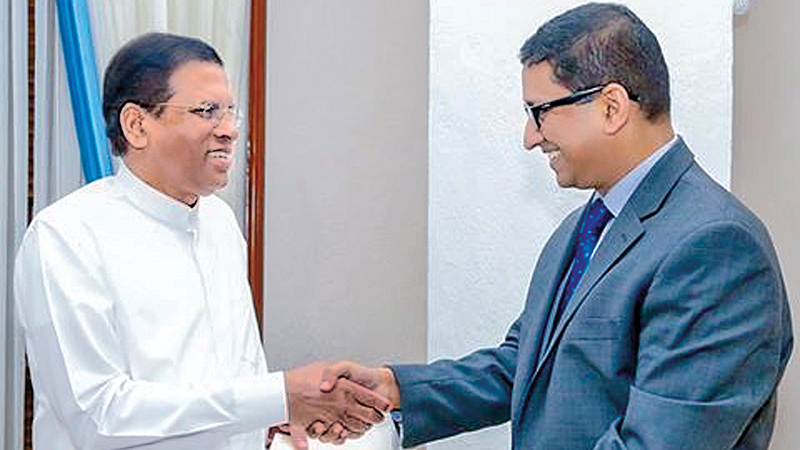 Cash donation by Bangladesh for flood relief handed over to President
