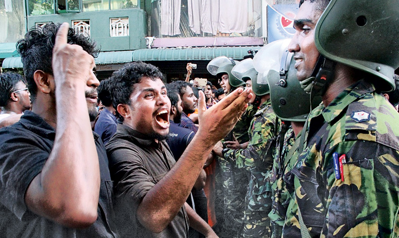 Magistrate issues order against anti-SAITM protesters